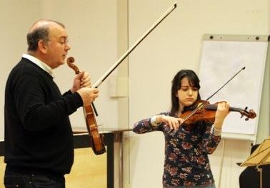 10/6 Concerto finale Masterclass di Violino